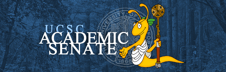 Senator Slug - the UCSC Academic Senate mascott
